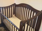 Кроватка детская практически новая