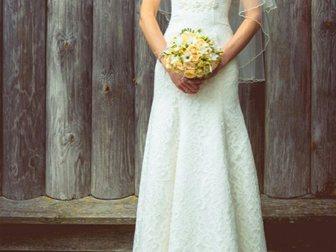 Смотреть foto  кружевное свадебное платье 33371945 в Смоленске