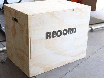 Свежее фото Спортивный инвентарь Тумба для кроссфита RECORD 33958864 в Смоленске