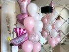 Воздушные шары хром, фольга, блёстки, конфетти