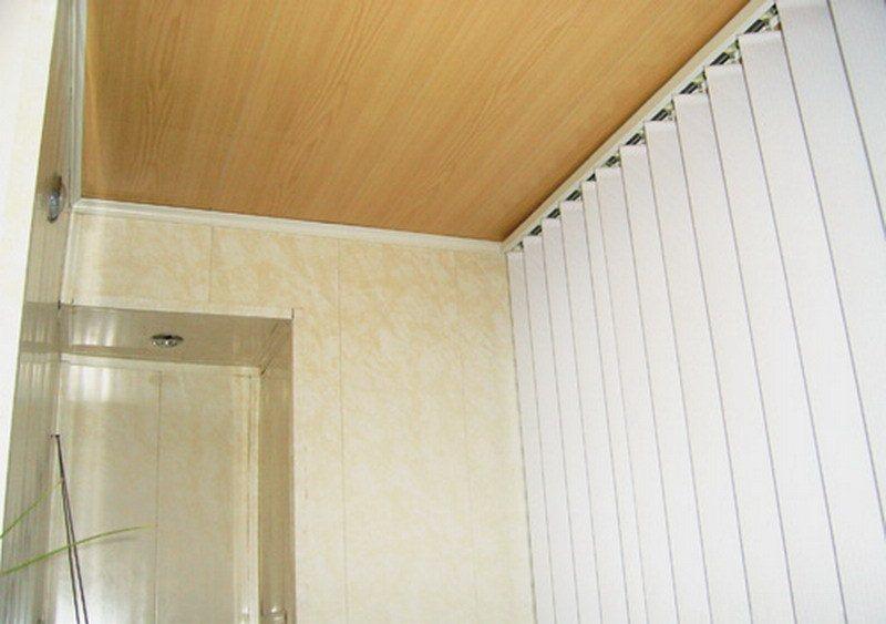 """Проект: отделка потолка панелями мдф в сочи, автор """"комфортн."""