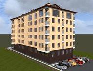 1-комнатная квартира в Адлере, на набережной реки Мзымта 1-комнатная квартира в