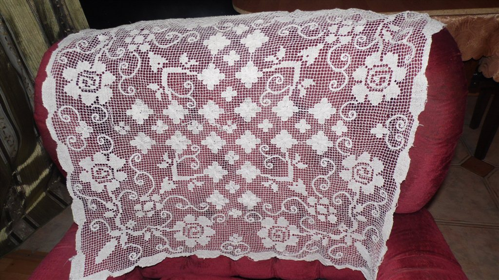 Вязание накидок на подушки 878