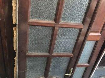 Дверь деревянная сосна (коробка, навесы, замок), размер 0,6х2,1 - 2000 рублей, дверь двухстворчатая сосна (коробка, навесы, замок), размер 1,1х2,1 - 3000 рублей, в Ставрополе