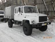 Автомобиль с двухрядной кабиной ГАЗ 33081 с сумкой Егерь 2 Базовое шасси ГАЗ-330