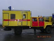 Автомобиль аварийной газовой службы ГАЗ 33081 с двухрядной кабиной ГОСТ Базовое