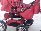 Новое foto Детские коляски Коляска-трансформер насыщено-красная 33392500 в Сыктывкаре