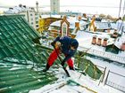 Фотография в Услуги компаний и частных лиц Разные услуги Выполним качественную очистку крыш любых в Тамбове 150