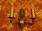 Foto в   Старинное бронзовое бра пара на две свечи в Тюмени 8500