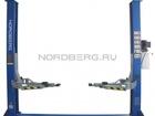 Просмотреть фотографию Прочее оборудование Подъемник двухстоечный, г/п 4 тонны Nordberg N4120A-4T (220B/380B) 39103544 в Тюмени