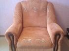 Скачать бесплатно foto Мягкая мебель Продам классическое кресло со вставками из дерева 40121515 в Тюмени