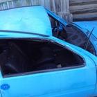 Автомобиль Ока после аварии, на разбор
