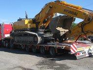 Перевозка тяжеловесных негабаритных грузов тралом Оказываем услуги аренды трала