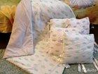 Бортики подушки с одеялом