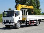 Просмотреть изображение Самопогрузчик (кран-манипулятор) Продажа нового бортового грузовика Исузу с манипулятором 5 тн, 13,5 метров 33366023 в Томске