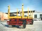 Уникальное foto  Прицепы-сортиментовозы 2-х осные до 18 240 кг, до 30 кубов 33566873 в Барнауле