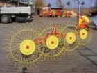 Смотреть фотографию Валкообразователи (грабли) Грабли-ворошилки 4 колесные Польша 38481873 в Красноярске