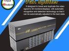 Новое foto Разные компьютерные комплектующие Сплиттер-Разветвитель VGA на 48 мониторов (1 вход - 48 выходов), активный, 450 МГц 54532507 в Томске
