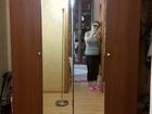 Новое фото  Шкаф для одежды с дверями-гармошкой зеркальными 67824285 в Томске
