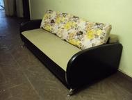 Новый диван Диван на пружинном блоке с механизмом тик-так от изготовителя. Габар