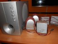 продам акустическую систему (1 сабвуфер и 5 динамиков) Продам 1 сабвуфер и 5 дин
