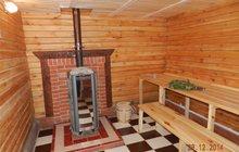 Русская баня на берёзовых дровах