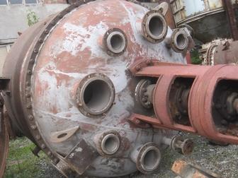 Свежее фото  Аппарат с мешалкой 3,2м3 химический реактор н/ж 72281018 в Томске