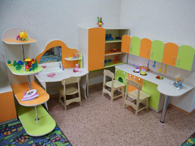 Детская мебель для игрового уголка в детском саду цена.