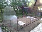 Новое изображение Строительные материалы Продаю теплицу грунтованную каркас и с поликарбонатом 34863311 в Торжке