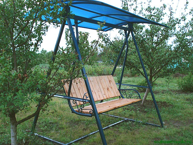 Тула: Качели садовые разборные - цена 10500 руб, Мебель для дачи и сада tula.buyreklama (объявление N 38894364)