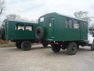 ГАЗ 66 вахтовый автобус Изготовление автофургонов для перевозки людей (вахтовые