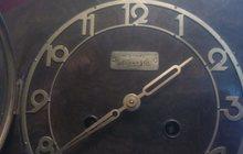 немецкие старинные каминные часы original kienzli