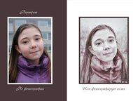 Портреты, любые услуги художника Художник-график исполнит любые пожелания заказч
