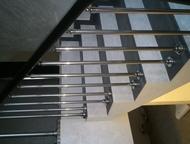 Ограждения, балконы из нержавеющей стали Изготовление ограждений, балконов из не
