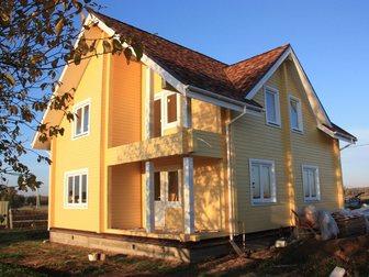 Просмотреть фото  Строительство домов таунхаусов бань коттеджей из сухого профилированного бруса 32902220 в Москве