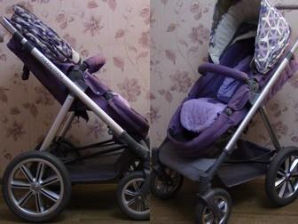 Новое foto Детские коляски Коляска-трансформер 2в1 Happy Baby Ultra Purple 38660266 в Твери