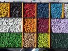 Просмотреть фотографию  Щебень цветной, декоративный, крашеный 58108860 в Уфе