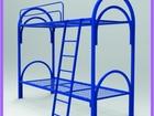 Уникальное foto Мебель для спальни Устойчивые металлические кровати для общежитий, купить 71898133 в Уфе