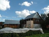 Дача рядом с Уфой снт Изобилие Двухэтажный дом с печкой, гараж баня скважина, 7,