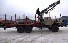 Сортиментовозный тягач 2008 г, Госрезерв с новым манипулятором Атлант-90