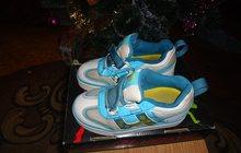 детские роликовые кроссовки heelys