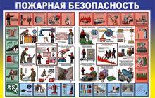Стенд Десять правил пожарной безопасности (М-08)