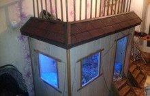 Двухьярусная кровать-домик