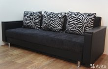 Новый Диван Палермо Zebra Black