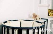 Кроватка-маятник Incanto Mimi 7в1 венге. Новая