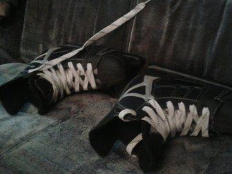 Скачать foto Другие спортивные товары коньки хоккейные 33240907 в Уфе
