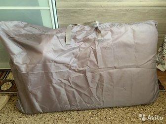 Продаю кроватку Geburt в идеальном состоянии,  Есть маятник, несколько уровней высоты, можно отстегнуть переднюю часть и пододвинуть к кровати/дивану, колесики у в Уфе