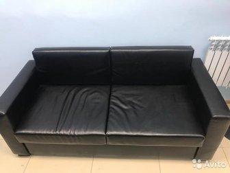 Продается практически новый офисный диван (3 месяца использования), Приобретался по цене 17100Ширина 1, 80 в Уфе