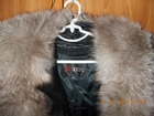Кожаное импортное меховое пальто