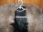 Новое кожаное импортное пальто